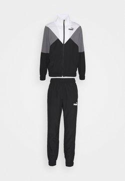 Puma - RETRO TRACKSUIT SET - Trainingsanzug - black