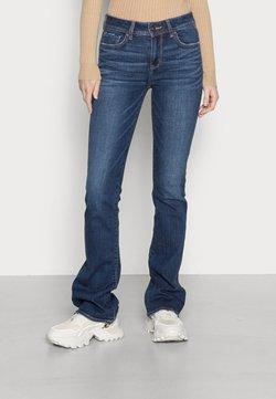 American Eagle - KICK BOOT - Bootcut jeans - dark vintage