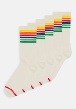 Monki - KIRSTEN SOCK 5 PACK - Socken - white dusty light