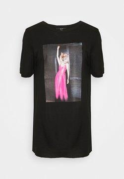 Vero Moda Tall - VMINDY LONG  - T-shirt print - black