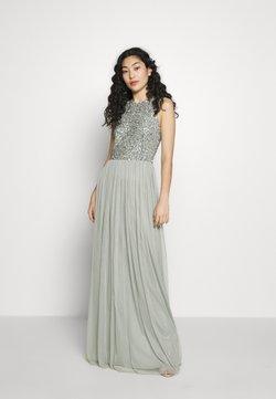 Lace & Beads Tall - BEATRICE MAXI  - Galajurk - sage