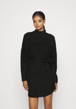 Noisy May - NMCITY AVA DRESS - Abito in maglia - black