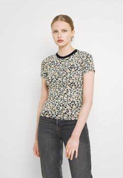 Levi's® - BABY TEE - T-Shirt print - obsidian
