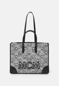 MCM - PATRICIA SHOULDER SMALL SET - Käsilaukku - grey