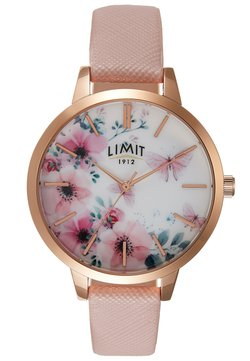 Limit - SECRET GARDEN LADIES WATCH FLOWERS - Montre - rose