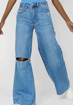 Stradivarius - Jeans bootcut - blue