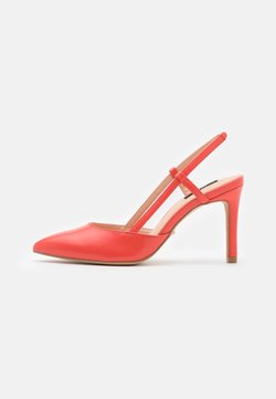 ONLY SHOES - ONLPEACHES SLING BACK - Zapatos altos - coral