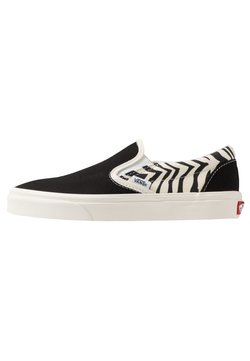Vans - CLASSIC - Loaferit/pistokkaat - offwhite/black