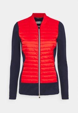 Kjus - WOMEN RETENTION JACKET - Trainingsvest - fiery red/atlanta blue