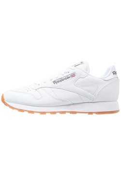 Reebok Classic - CLASSIC LEATHER LOW-CUT DESIGN SHOES - Sneaker low - white