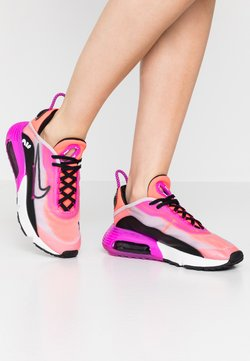 Nike Sportswear - AIR MAX 2090 - Sneaker low - iced lilac/black/fire pink/flash crimson/summit white/anthracite