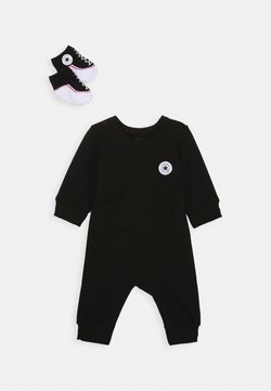 Converse - LIL CHUCK COVERALL SET UNISEX - Overall / Jumpsuit - black