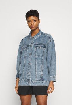 Monki - KATRINA JACKET - Veste en jean - blue medium dusty mid blue