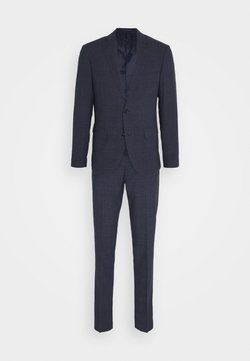 Matinique - CHECK SUIT - Garnitur - ink blue
