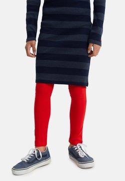 WE Fashion - MEISJES SKINNY FIT - Legging - red