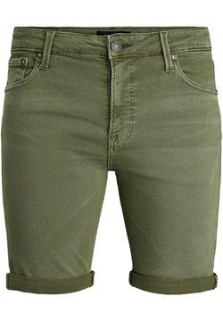 Jack & Jones - Shorts di jeans - grün