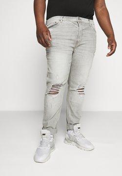 Topman - DISTRESS - Slim fit jeans - grey