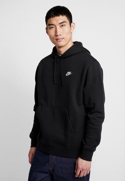 Nike Sportswear - Club Hoodie - Kapuzenpullover - black/white