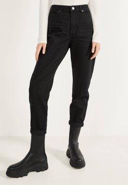 Bershka - MOM - Jeans Straight Leg - black