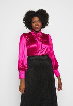Vero Moda Curve - VMNIMI  - Bluse - pink peacock
