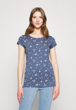 Ragwear - MINT CAMOMILE - T-Shirt print - indigo
