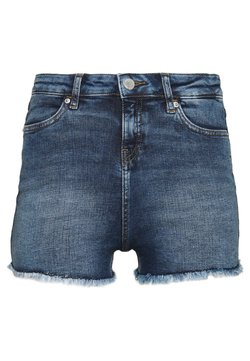 Miss Selfridge - Jeansshort - blue denim