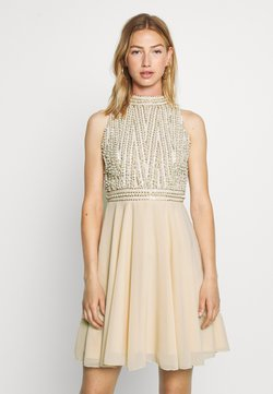 Lace & Beads - ABELLE SKATER - Cocktailkleid/festliches Kleid - cream