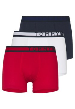 Tommy Hilfiger - TRUNK  3 PACK - Shorty - dark blue/red/white