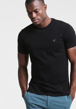 Marc O'Polo - C-NECK - T-Shirt basic - black