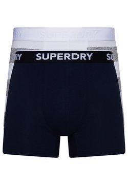 Superdry - 2 PACK - Panties - nautical navy/preppy grey stripe