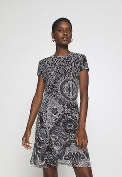 Desigual - VEST PARIS - Vestido informal - black