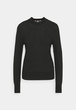 Scotch & Soda - CLASSIC CREWNECK - Strickpullover - black