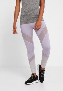 Even&Odd active - Tights - silver/lilac