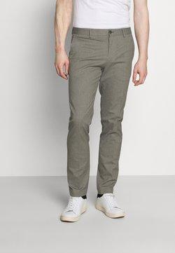 Tommy Hilfiger Tailored - FLEX PANT - Broek - beige/grey