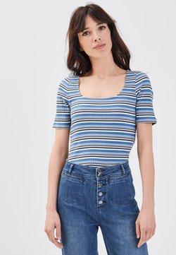BONOBO Jeans - UMWELTBEWUSSTES  - T-Shirt print - dark blue