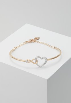 Swarovski - INFINITY BANGLE - Bracelet - rose gold-coloured