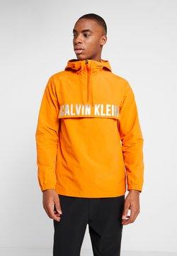 Calvin Klein Performance - ZIP JACKET - Laufjacke - orange