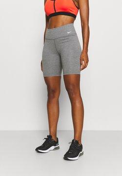 Nike Performance - ONE SHORT 2.0 - Tights - iron grey/heather/white