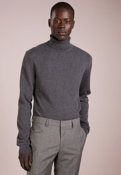 pure cashmere - MEN TURTLENECK  - Strickpullover - graphite