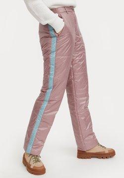Finn Flare - Stoffhose - grey pink
