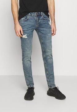 Redefined Rebel - STOCKHOLM DESTROY - Slim fit jeans - hola blue