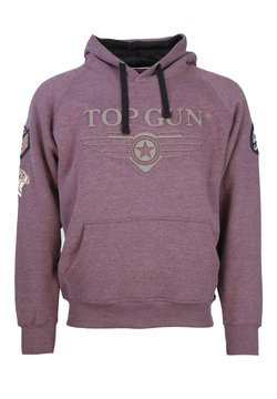 TOP GUN - Sweater - bordeaux