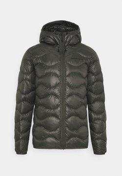 Peak Performance - HELIUM HOOD JACKET - Down jacket - black olive