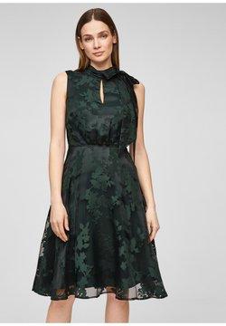 s.Oliver BLACK LABEL - Cocktailkleid/festliches Kleid - dark green