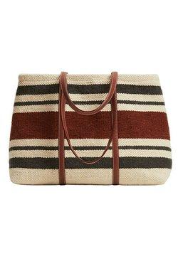 Mango - Shopping Bag - beige