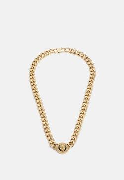 Guess - LION COIN CHAIN NECKLACE UNISEX - Kaulakoru - gold-coloured