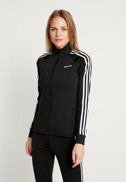 adidas Performance - 3STRIPES DESIGNED2MOVE SPORT TRACK TOP - Trainingsjacke - black/white