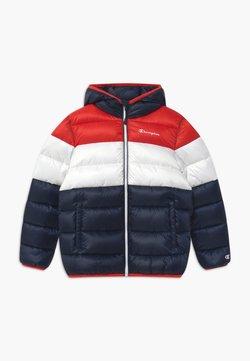 Champion - COLOR BLOCK UNISEX - Winterjacke - dark blue/white/red