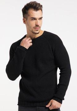TUFFSKULL - Stickad tröja - schwarz