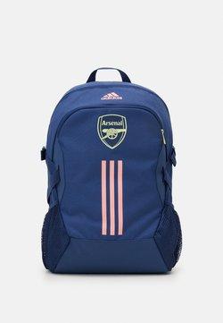 adidas Performance - ARSENAL FC SPORTS FOOTBALL BACKPACK - Reppu - dark blue/pink